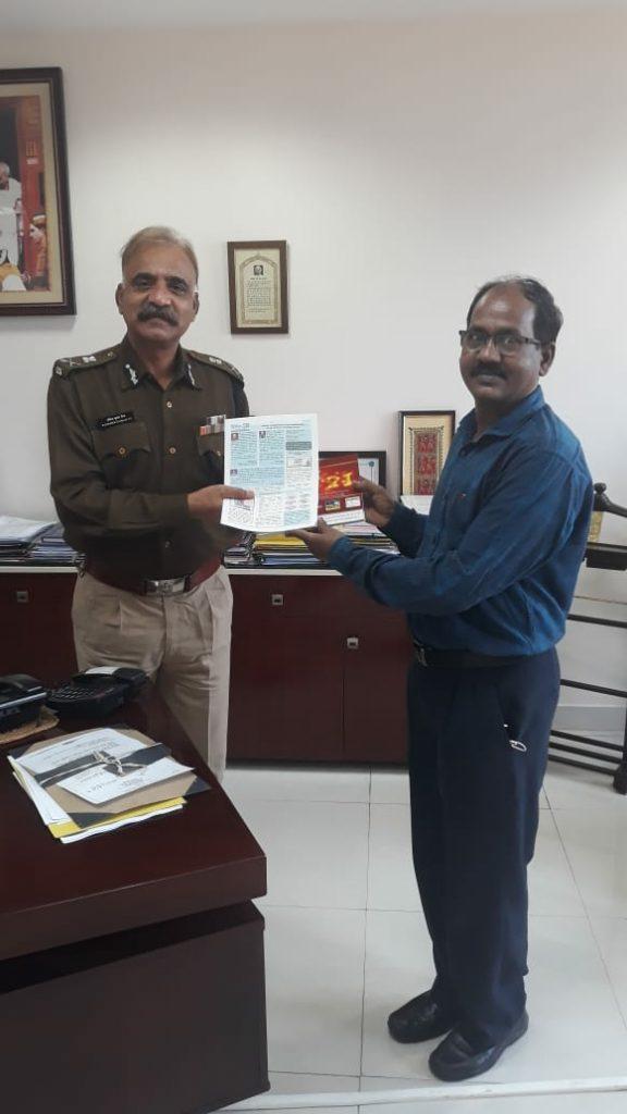 Mr. R.K. Vij IPS, Special DG Police and State Nodal Officer CCTNS