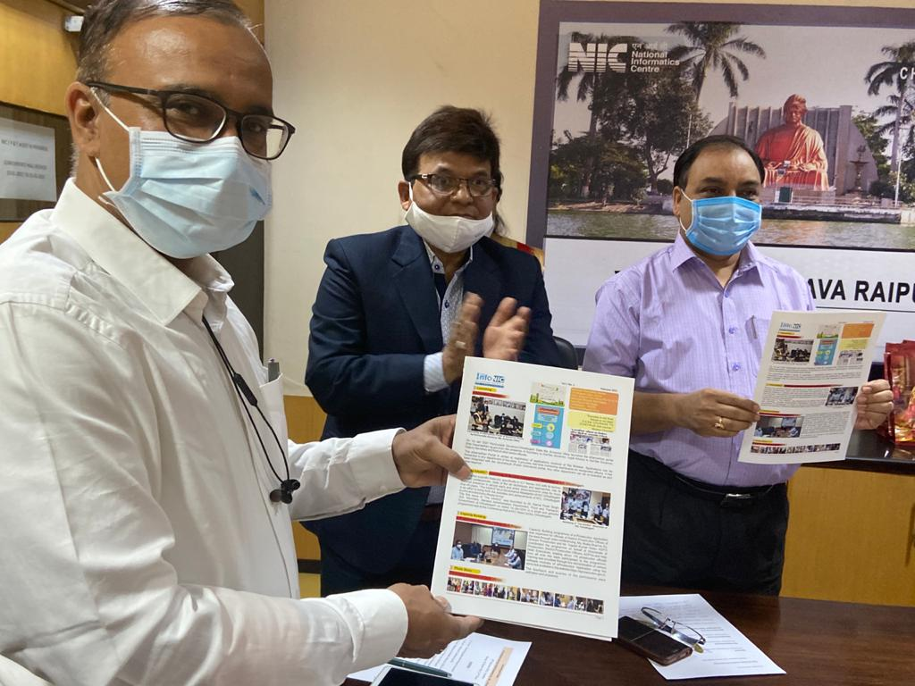 Launch of video of NIC-CG activities in COVID time