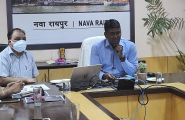 Interaction over VC with Kids and NIC District Centers