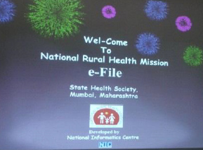 eFile implementation at NRHM-Mumbai – 13th March 2012.