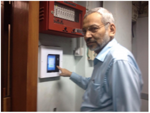 Implementation of Aadhar Enabled Biometric Attendance System (AEBAS) in NIC Maharashtra