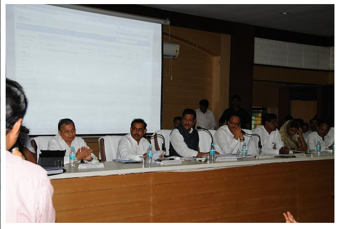 NIC e-Office Software inaugurated by Honorable Chief Minister of Maharashtra on 07/05/2013 at Meeting Hall, Collectorate, Jalna (http://jalna.eoffice.gov.in ).