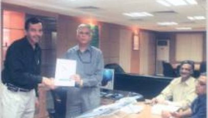 Release of Project Brochure of NIC, Maharashtra by DG, NIC