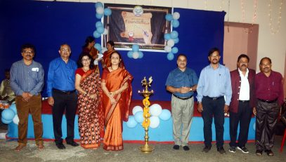 Lighting of Lamp by Dignitaries