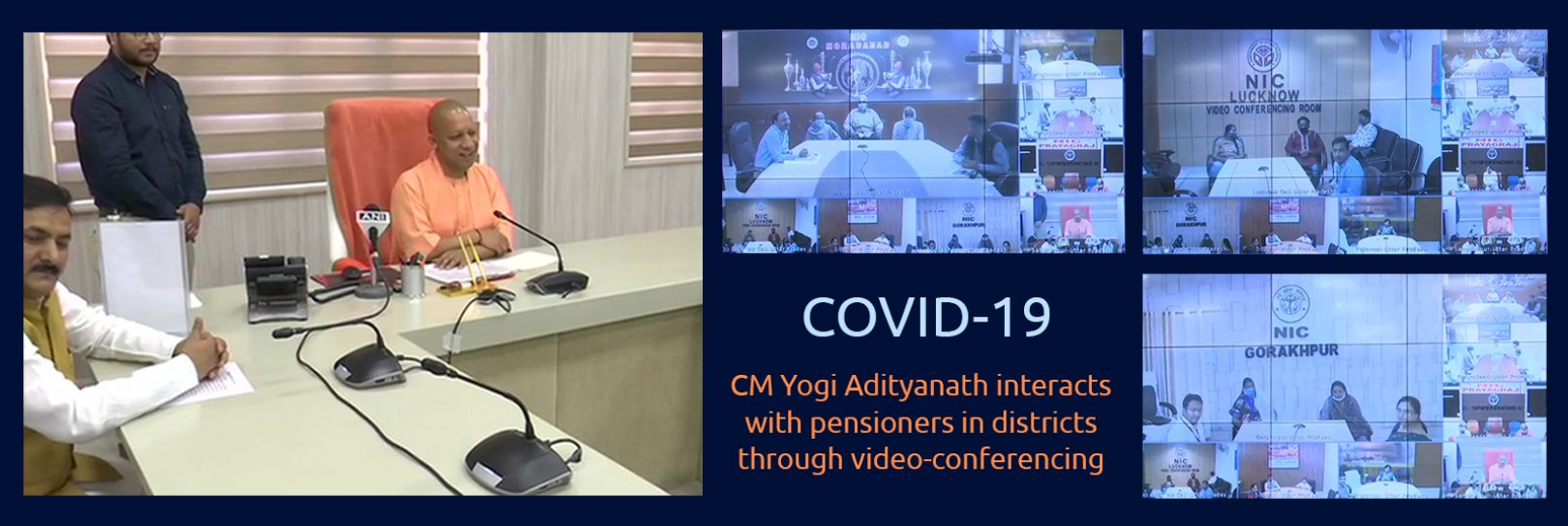 VC with Pensioners