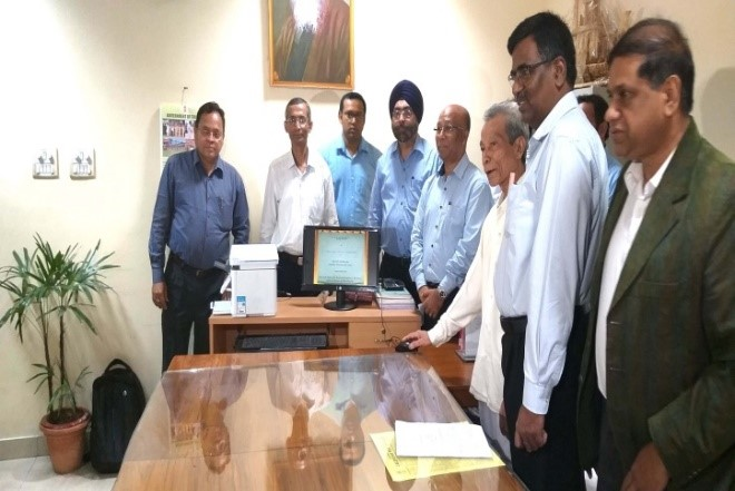 """Launch of """"Online Digitally signed copy of Records of Rights (RoR)"""" System"""