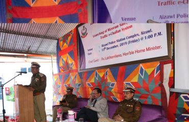 Vote of thanks was delivered by Shri L.H Shanliana, IPS, IGP (L&O)