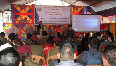 Dr. Ram Krushna Das State Informatics Officer, NIC Mizoram highlighted the Technical aspects on e-Challa