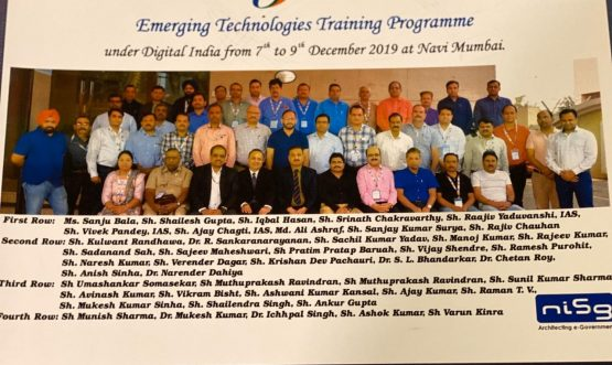 Emerging Techonologies Training Programme