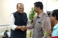 SIO with Chief Secretary,Govt.of Telangana