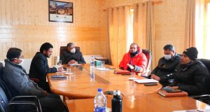 Advisor reviews NHIDCL projects & plans of UT Ladakh depts