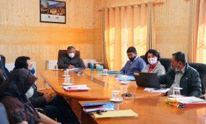Advisor Ladakh convenes COVID Vaccination State Steering Committee meeting