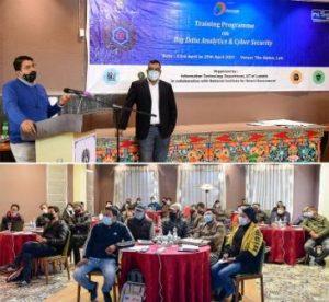 Secy, IT Ladakh inaugurates training on Big Data Analytics, Cyber Security in Leh