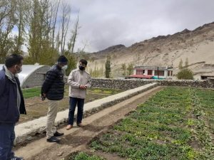 Secy Agriculture inspects various farms, directs dept to support agri-entrepreneurs