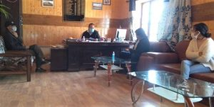 SDM Khaltsi directs to set up Covid Care Centre in every panchayat