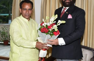 Health Minister Dr. Dhan Singh Rawat called on Governor