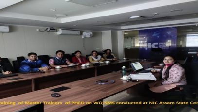 Master trainer's training on 'WQ-SMS'