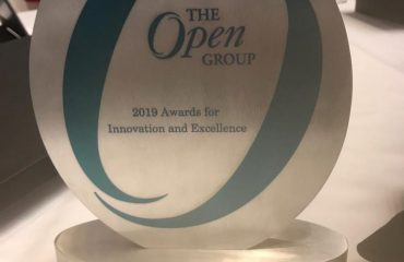 Open Group award to -IFMS team