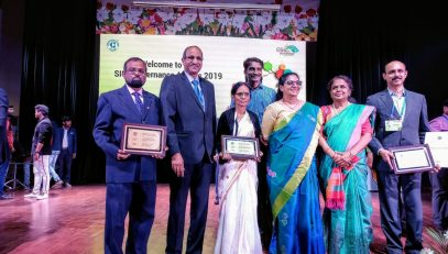 NIC Kerala Team - CSI SIG 2019 EGov awards event