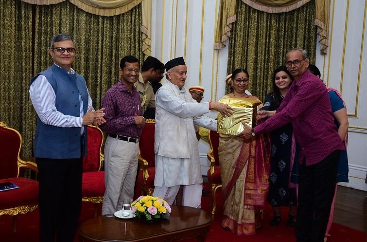 राजभवनचे जमादार, श्री विलास रामचंद्र मोरे यांना सेवानिवृत्तीबददल राज्यपाल भगत सिंह कोश्यारी यांच्या हस्ते भावपुर्व निरोप देण्यात आला