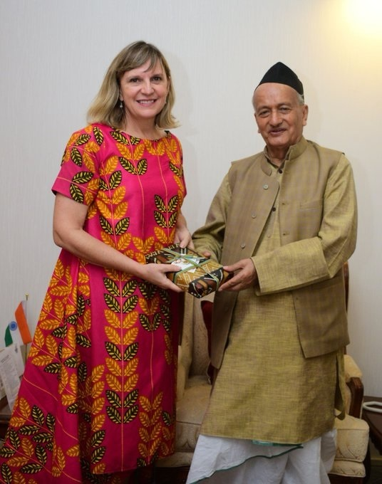 Consul General of South Africa in Mumbai Andrea Kuhn met Governor