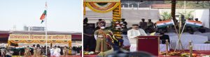 Governor unfurled the National Flag at Shivaji Park, Mumbai on the occasion of Republic Day