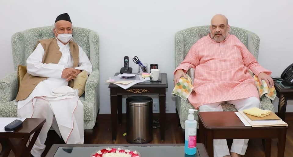 Governor met Union Home Minister Amit Shah in New Delhi