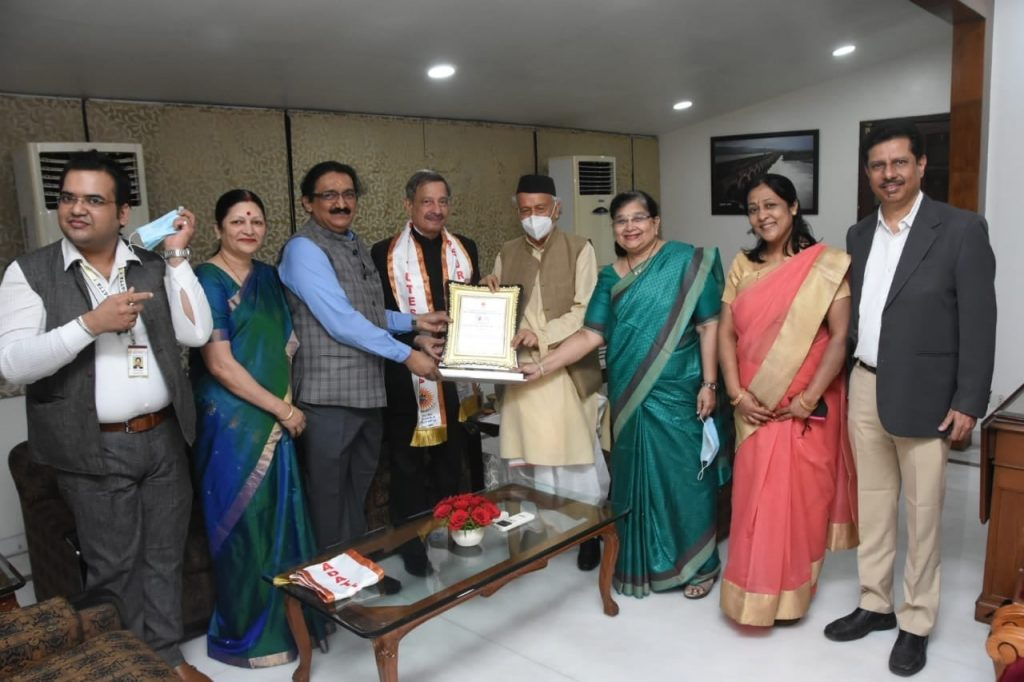 Air Marshal Bhushan Gokhale honoured by Governor