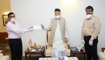 Governor Koshyari bags first prize in Letter Writing Competition organized by Department of Posts
