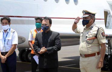 Governor arrived in Nagpur