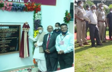 Governor inaugurated the Agricultural Robots, Drones and Automated Vehicles Laboratory of VNMKV