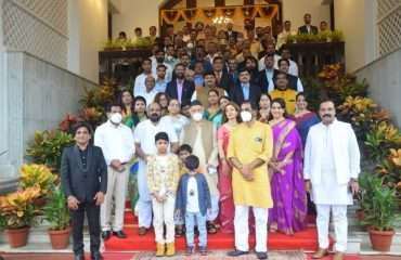 Governor presented the Frontline Warrior organised by Jay Foundation