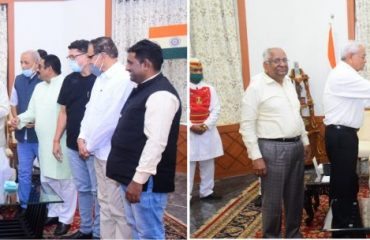 Governor inaugurates All India Flag Day for the Blind