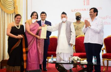 Governor Bhagat Singh Koshyari felicitated doctors on the occasion of World Mental Health Day