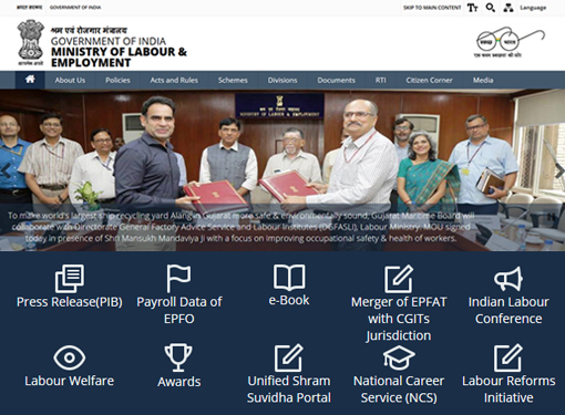 Government of India, Ministry of Labour and Employment
