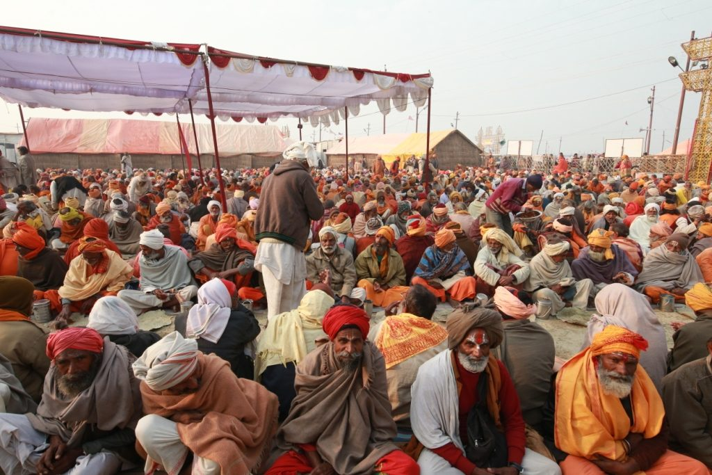 The Saints & Devotees in Magh Mela