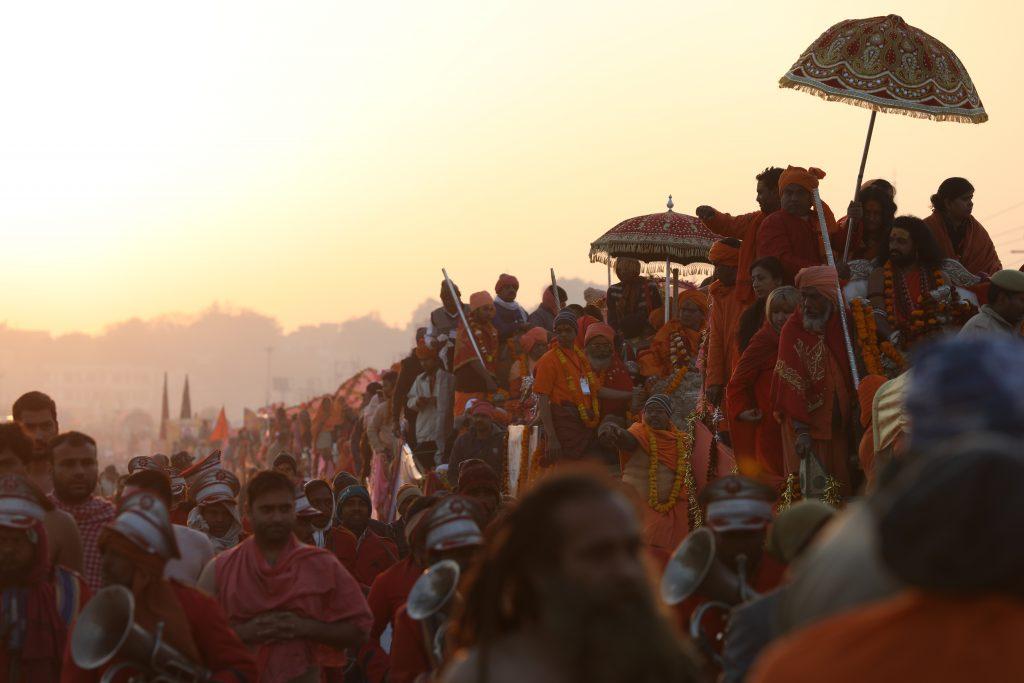 Shobha Yatra during Snana Parv