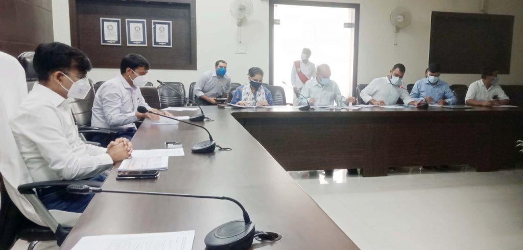 Meeting of Prayagraj Smart City Ltd. conducted under Chairmanship of Divisional Commissioner