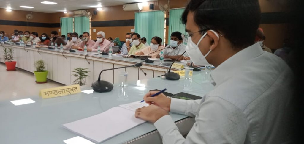 Review meeting of Development Projects