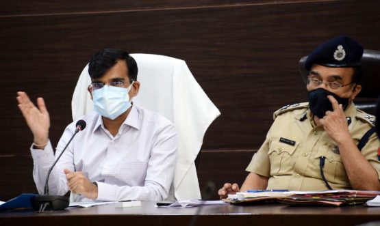 Divisional review meeting of Excise department and Law and Order