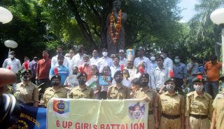 Divisional Commissioner paid tribute to the freedom fighter on the occasion of 115th birth anniversary of Chandrashekhar Azad