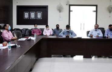 Meeting of Monitoring, Evaluation and Review Committee