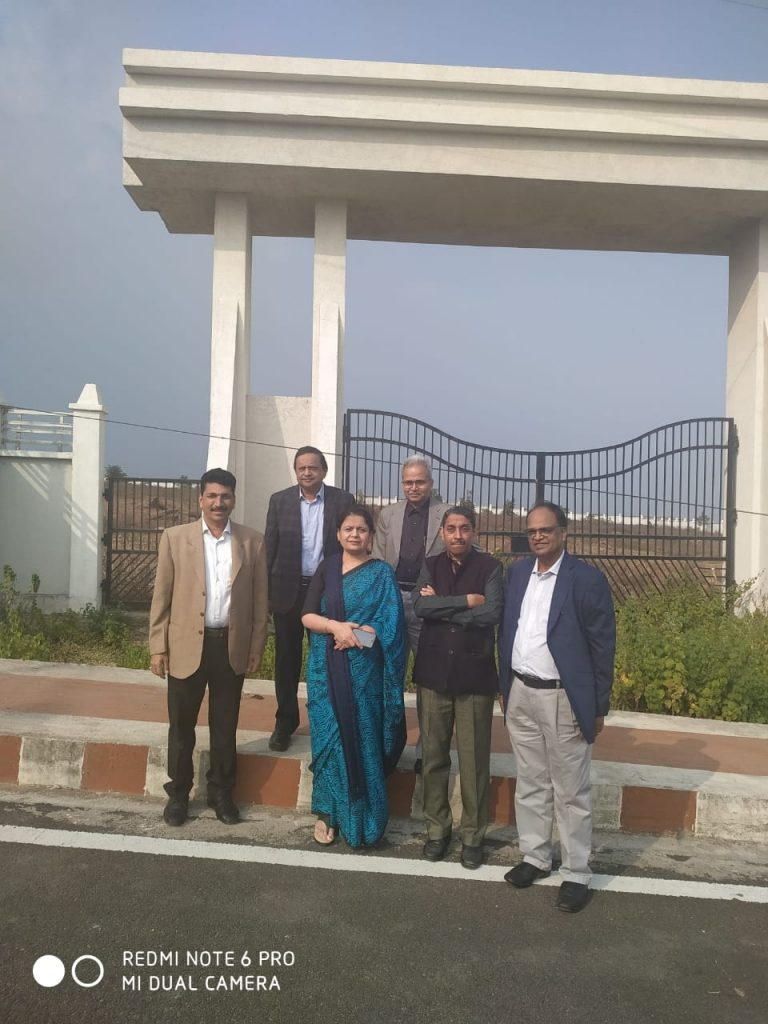 Site Visit of National Data Centre Bhopal by DG, NIC and Senior Officials