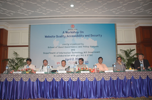 Workshop on Website Quality, Accessibility & Security