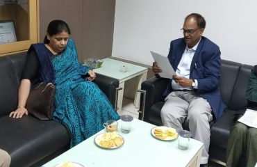 DG, NIC discussion with Senior Officials