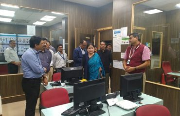 Visit of National Knowledge Network POP by DG, NIC and Senior Officials
