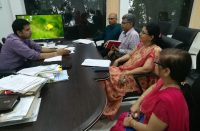 Meeting with Secy IT