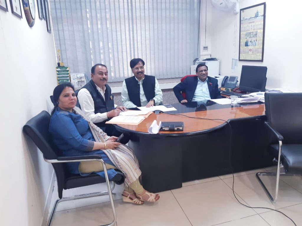 SIO NIC Punjab during VC on Women Empowerment and COVID-19