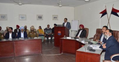 Three Days Training Workshop on e-Prisons and ICJS held at Punjab Police