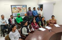 Empowered Women & Officers of NIC Punjab Chandigarh during the VC